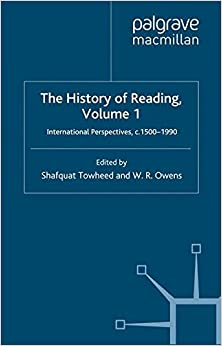 Book The History of Reading: International Perspectives, c. 1500-1990