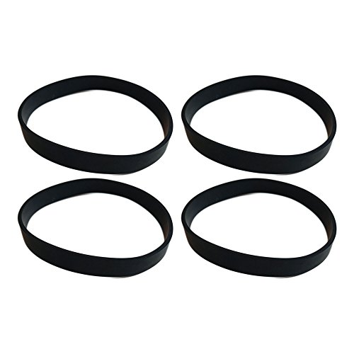 4 Replacements for Hoover Elite Rewind Drive Belts Fit Legacy Agitator, Compatible With Part # 40201190 & 38528040, Long Life & Durable, by Think Crucial - Agitator Drive Belt