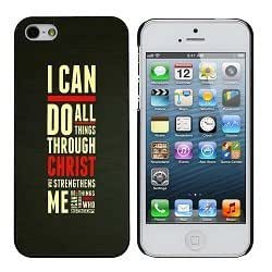 Philippians 4:13 I Can Do All Things iphone 5/5s Case