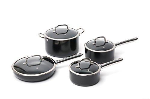 Berghoff Earth Chef Boreal 8-Piece Non-Stick Cookware (Boreal Glass)