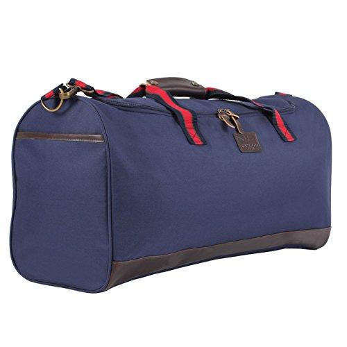Kangol Trim bolsa azul marino Carryall–Bolsa de deporte, azul marino, H: 29cm; W: 56cm; D: 19cm.