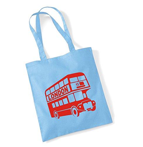 Sky Shopping London London Tote Sinclair Bag Bus 2 Blue Design Edward Bag v187w1