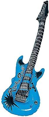 Amazon.com: Azul guitarra hinchable de (1 pieza): Toys & Games