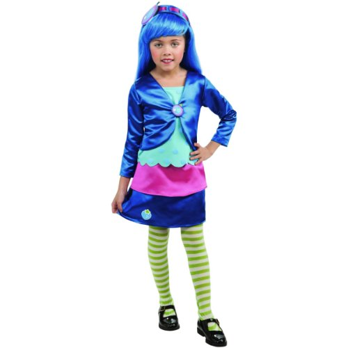Blueberry Muffin Girl Costume (Deluxe Blueberry Muffin Costume for Girls)