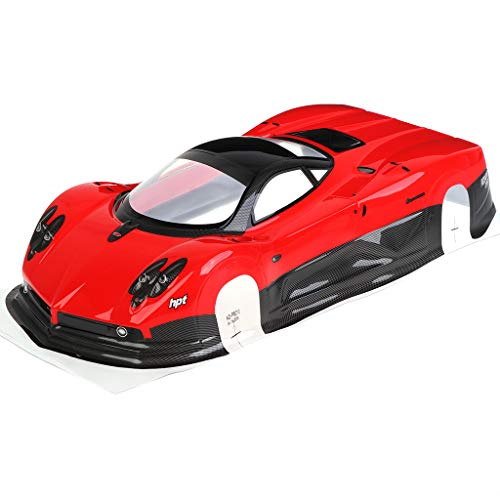 Aiyouxi New 1/10 Scale RC Car On-Road 1:10 Drift Body Shell 200mm for HSP 94123 94122 Spare Parts (Rc Drift Car Body Shell 1 10)