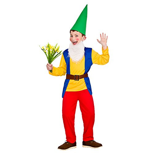 Boys Funny Garden Gnome Fancy Dress Up Party Costume Halloween Child Outfit for $<!--$23.45-->