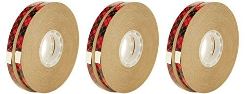Scotch 085-R ATG Advanced Tape Glider Refill Rolls, 1/4-Inch by 36-Yard, 6 Rolls