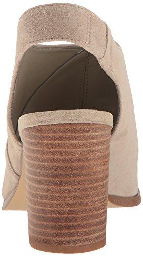 Nine West Women's Burnby Suede Dress Sandal Taupe Sdafnl