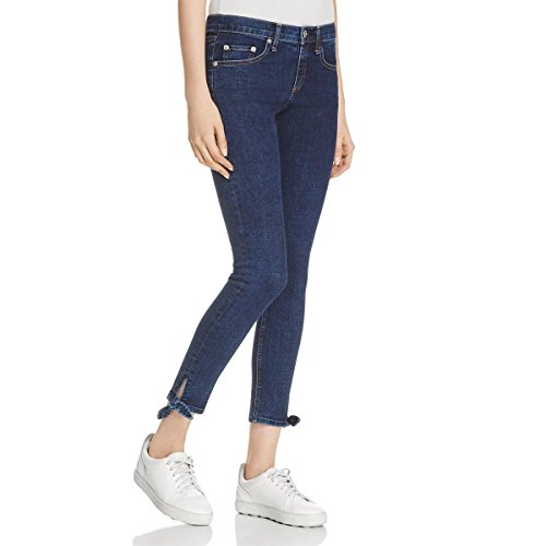 rag & bone Womens Stevie Denim Low-Rise Capri Jeans Blue 24 from rag & bone