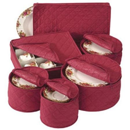 Quilted China Keepers Starter Crimson