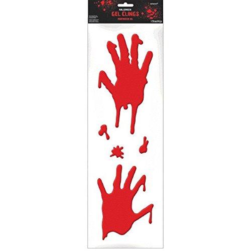 Asylum Halloween Bloody Hands Long Gel -