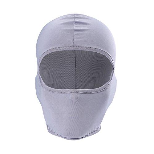 cycle Headgear Helmet Liner Balaclava Ski Mask Face Hat (Gray) ()