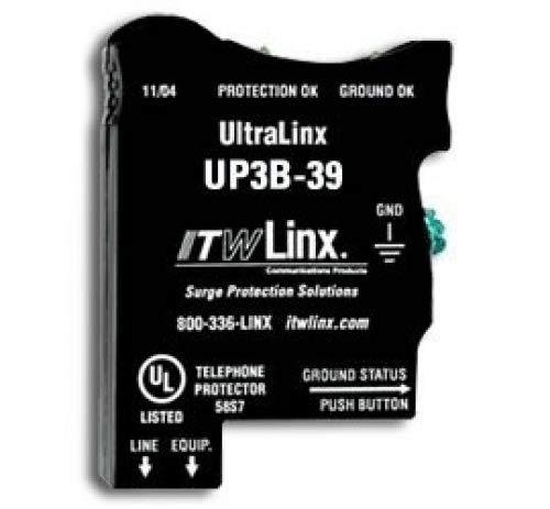 (UltraLinx 66 Block/39V Clamp/350mA Fuse)