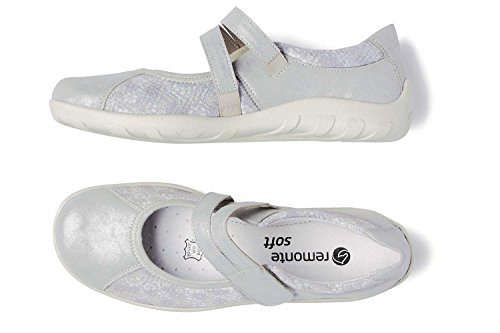 Remonte Zapatos de Mary Jane Casual Mujer Orion plata