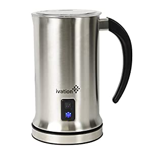 Ivation Cordless Automatic Electric Milk Frother & Warmer : Awesome capacity & durability