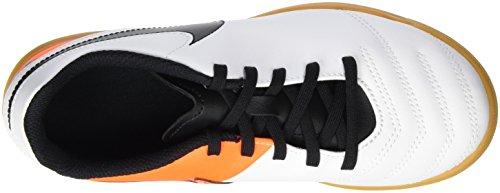 Nike Jr Tiempo Rio Iii Ic, Zapatillas Para Niños Blanco (White / Black Total Orange)