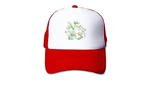 Sombrero Blanco del Viaje de FlowerUnisex Gorra: Amazon.es: Ropa y ...