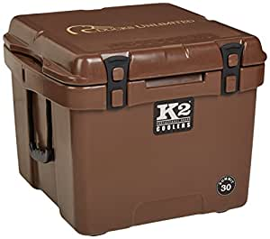 K2 Coolers Summit 30 Ducks Unlimited Edition Cooler, Mud Brown