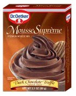 (Dr Oetker Mousse Supreme Dark Chocolate, 3.1 oz)