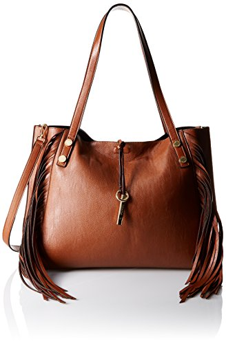 Boho-Chic Vacation & Fall Looks - Standard & Plus Size Styless - Calvin Klein Key Item Top Zip Saffiano Crossbody