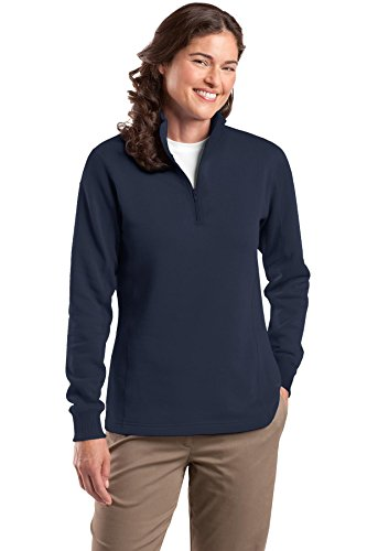 1/4 Zip Womens Sweatshirt - 2