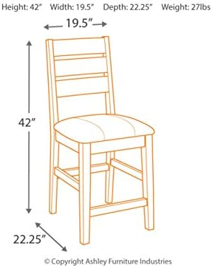 home, kitchen, furniture, game, recreation room furniture, home bar furniture,  barstools 9 discount Ashley Furniture Signature Design - Larchmont Barstool Set - Pub promotion