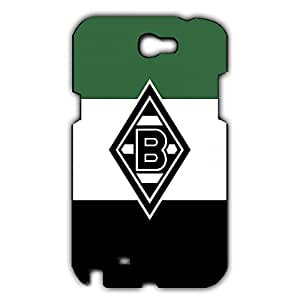 Popular Design FC Monchengladbach Collection Football Club Phone Case Cover For Samsung Galaxy Note 2 3D Plastic Phone Case