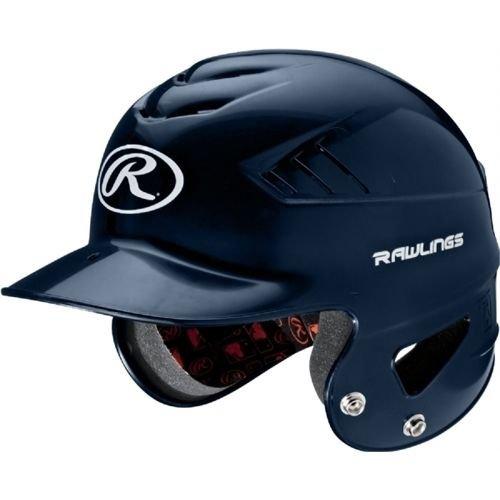 Rawlings Coolflo NOCSAE Molded Batting Helmet, Navy,