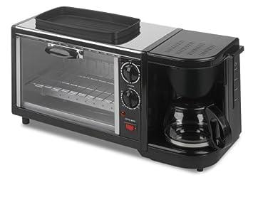 Amazon Kalorik Breakfast Set 3 In 1 Coffee Maker Oven