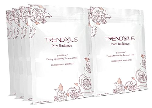 Trendous Biocellulose: Professional Strength Facial Treatment Mask