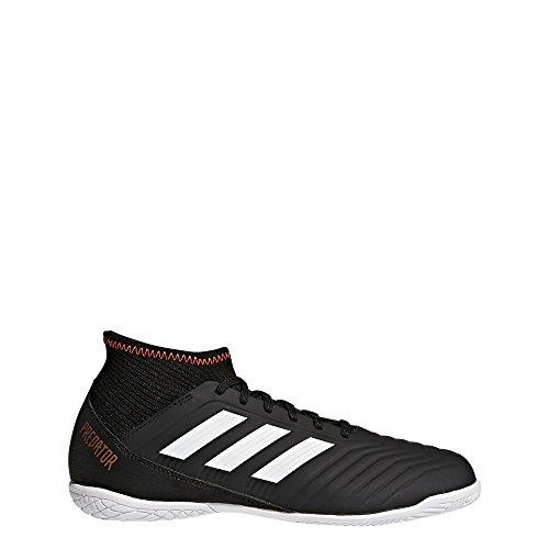 adidas Predator Tango 18.3 In J, Zapatillas de Gimnasia Unisex Niños Negro (Negbas / Ftwbla / Rojsol 000)
