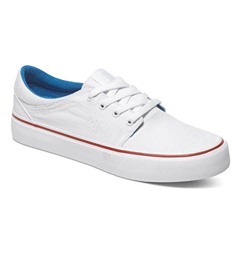 Sneakers Dc Trase Tx J Bkw Damen Bianco / Blu / Rosso