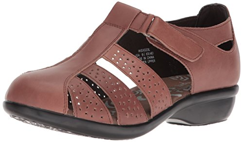 Propét Women's April Fisherman Sandal Brown PZH7H