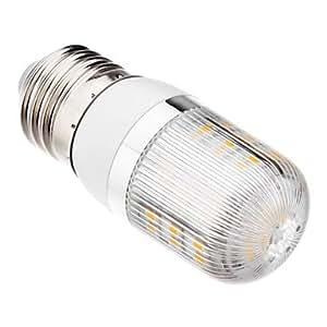 Driver E27 2.5W 48x3528SMD 180-210LM 3000K luz blanca cálida Bombilla LED de maíz (220-240V)