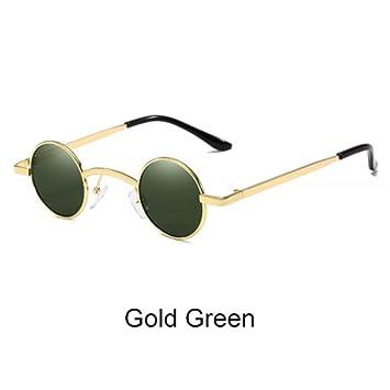 ZHOUYF Gafas de Sol Gafas De Sol Redondas Pequeñas para ...