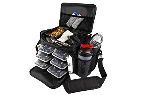 Isobag 6 Meal Reverse Red/Black by Isolator Fitness (Image #3)