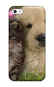 5342928K57287342 High Impact Dirt/shock Proof Case Cover For Iphone 5/5s (cat And Dog)