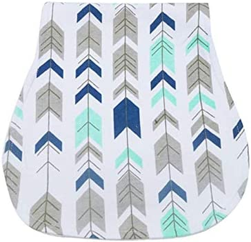 Baby Burp Cloths Set 4-Pack Multi-use and Absorbent Burp Set Soft Large Burping Towels Bib with Waterproof Layer for Baby Boys and Girls PB211
