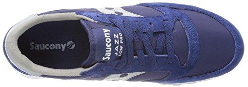 Saucony Blu Colore Nylon Giallo 123 Camoscio Modello Uomo Scarpe Pro Sneaker Jazz 2866 Low OwtrqYBO
