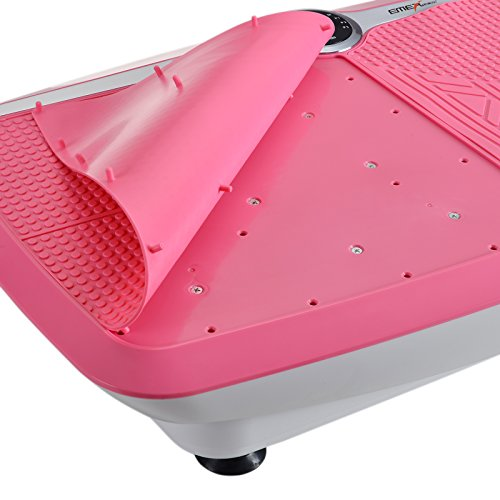 X-MAG Pink 3 Sport Intensities Whole Body Vibration Fitness Trainer Platform Machine with Straps by X-MAG (Image #3)