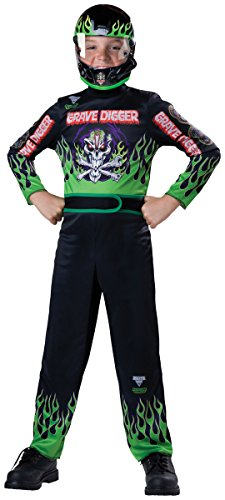 Grave Digger Costume - Small (Grave Digger Halloween Costume)