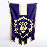 World of Warcraft Alliance Cosplay Flag