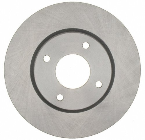 ACDelco 18A2500A Advantage Non-Coated Front Disc Brake Rotor