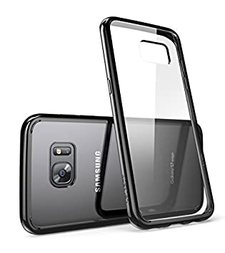 newest 817d4 666be i-Blason Galaxy S7 Edge Case, [Scratch Resistant] Clear** [Halo Series]  Samsung Galaxy S7 Edge Hybrid Bumper Case Cover 2016 Release (Clear/Black)