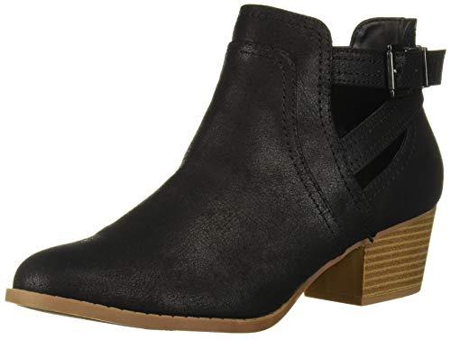 Fergalicious Women's Banger Ankle Boot, Black, 11 M M US