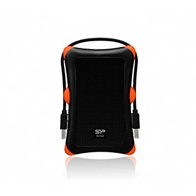 "External Hard Drive Silicon Power SP020TBPHDA30S3K 2 TB 2.5"" USB 3.1 by Silicon Power"
