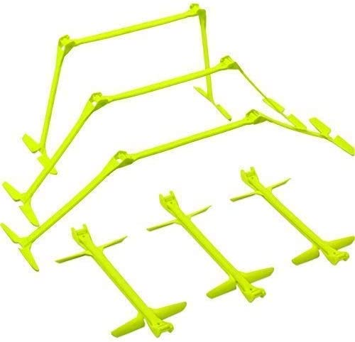 QuickPlay PRO Adjustable Height 6 , 9 12 The Original All-in-One Speed Hurdles Set of 6 Speed Training Hurdles, Agility Hurdles and Plyometric Hurdles