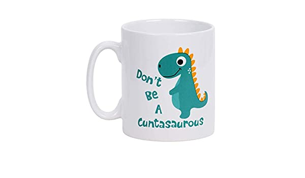Amazon.com : 301-400ML Cute Dinosaur Ceramic Coffee Cup, Mark Cup Drinking Glass, Milk Cup, Childrens Dinosaur Cup : Beauty