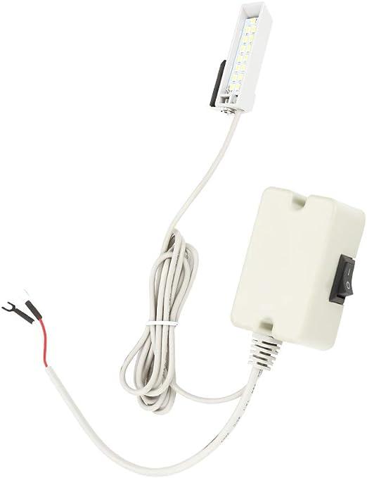 Máquina de coser 0.5W Lámpara LED que atenúa la luz de trabajo del ...