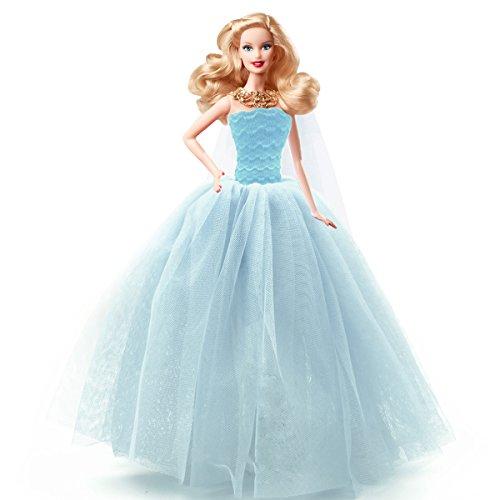 holiday barbie blue dress - 3
